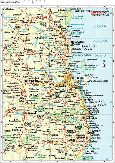 Map Of Australia And Surrounding Areas.Digital Surrounding Areas Brisbane Surrounding Areas Sydney