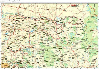 Map Of North East Australia.Digital Australia Regions North East Victoria Sydney Australia