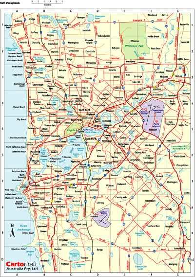 Digital - Australia - Suburban - Perth & Suburbs - Sydney