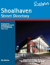 craigies street directories - maps - Bawley Point - Bendalong - Berrara - Berry - Bomaderry - Burrill Lake - Callala Bay - Callala Beach - Cambewarra Village - Cudmirrah,Culburra Beach - Cunjurong Point - Currarong - Durras North - Erowal Bay - Greenwell Point - Huskisson - Hyams Beach - Kangaroo Valley - Kioloa - Lake Conjola - Lake Tabourie - Manyana - Milton - Mollymook - Narrawallee - Nowra - Old Erowal Bay - Orient Point - St. Georges Basin - Sanctuary Point - Shoalhaven Heads - Sussex Inlet - Ulladulla - Vincentia & Worrigee